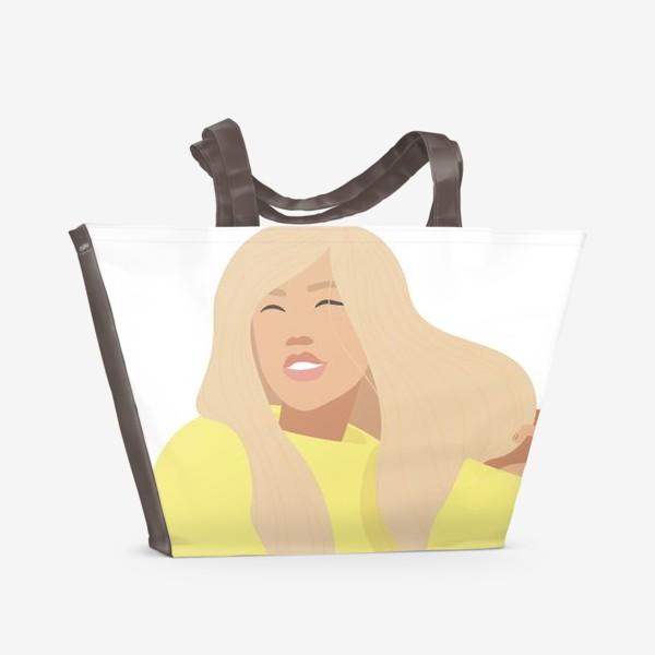 Пляжная сумка «День блондинок»