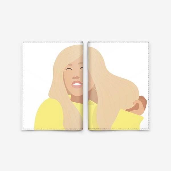 Обложка для паспорта «День блондинок»