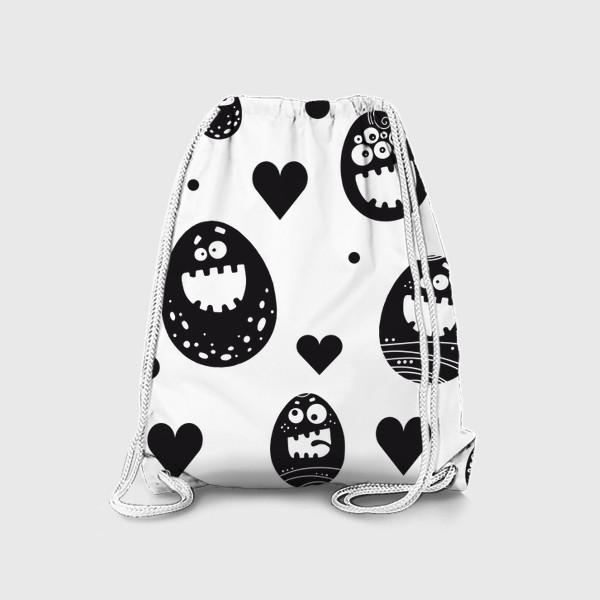 Рюкзак «Веселый пасхальный паттерн»