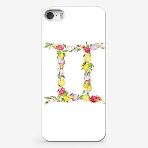 Чехол iPhone «Близнецы. Акварельный зодиак. Подарок близнецам»
