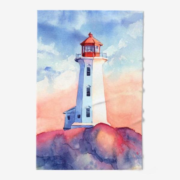 Полотенце «Акварельный маяк»