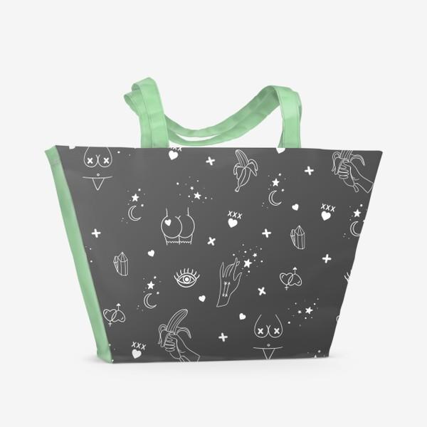 Пляжная сумка «Узоры 18+ 2»