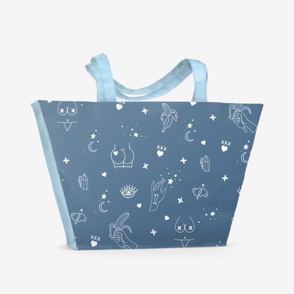 Пляжная сумка «Узоры 18+ 3»