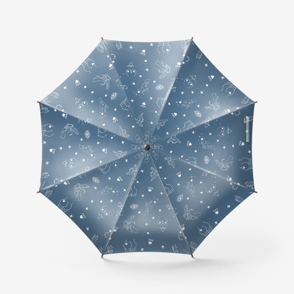 Зонт «Узоры 18+ 3»