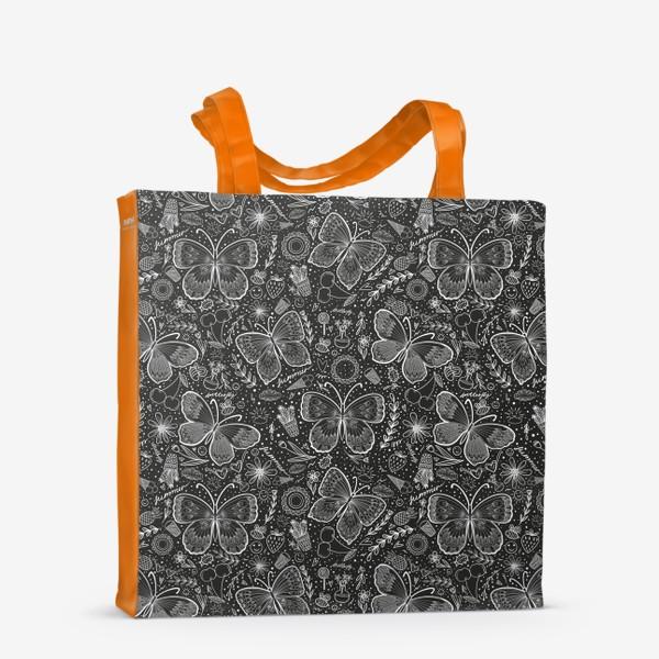 Сумка-шоппер «Бабочки 2»