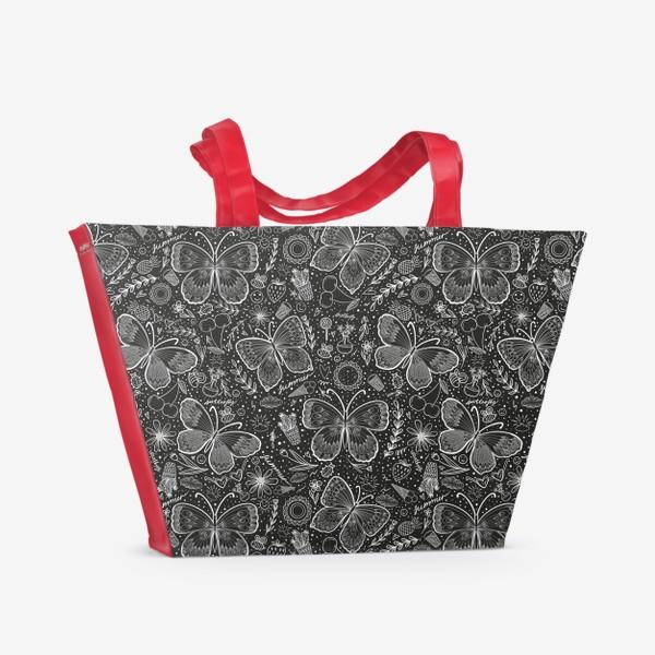 Пляжная сумка «Бабочки 2»