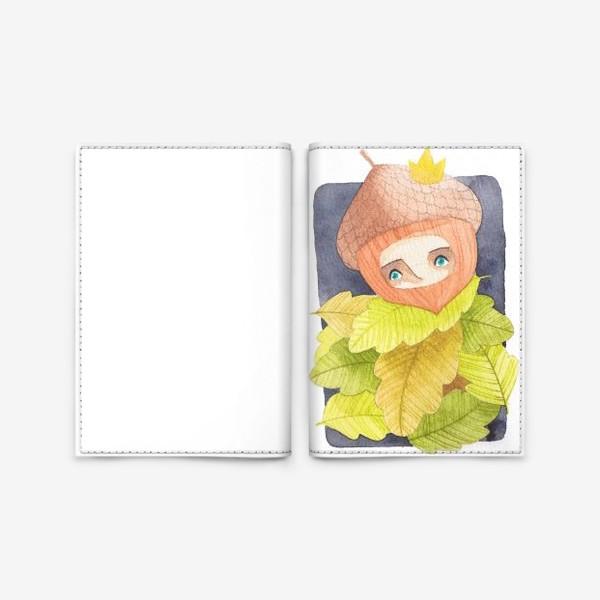Обложка для паспорта «жёлудь»