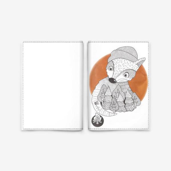 Обложка для паспорта «Лис лесник»