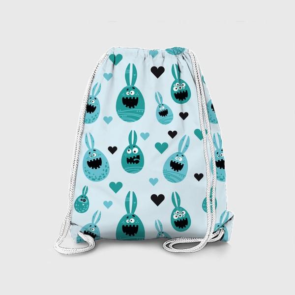 Рюкзак «Пасхальный паттерн»