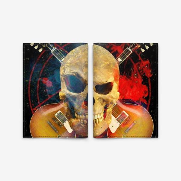 Обложка для паспорта «Каверы Пушного»