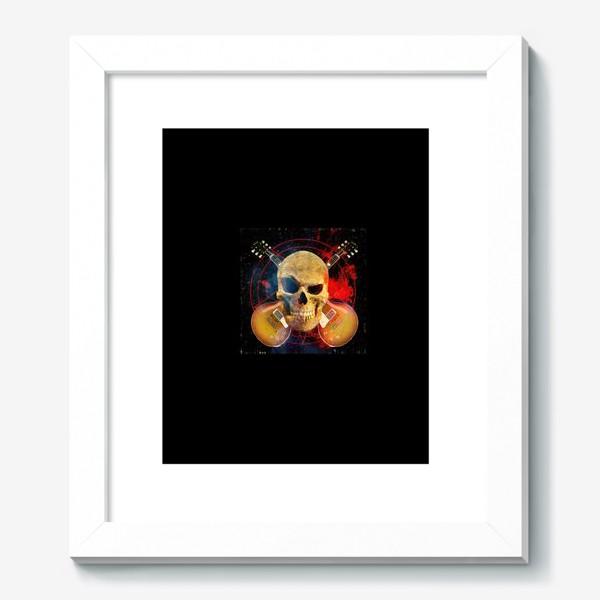 Картина «Каверы Пушного на черном фоне»