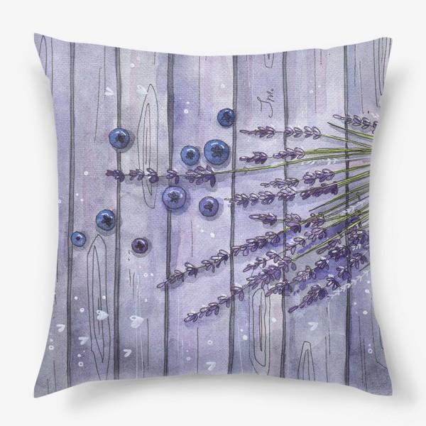 Подушка «Лаванда»