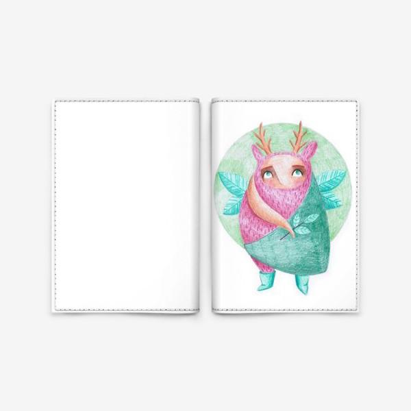 Обложка для паспорта «ожидание весны»