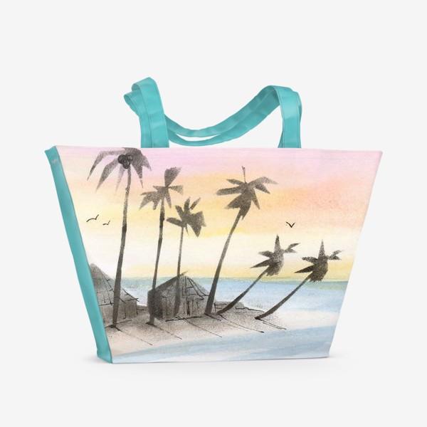 Пляжная сумка «Мальдивы»