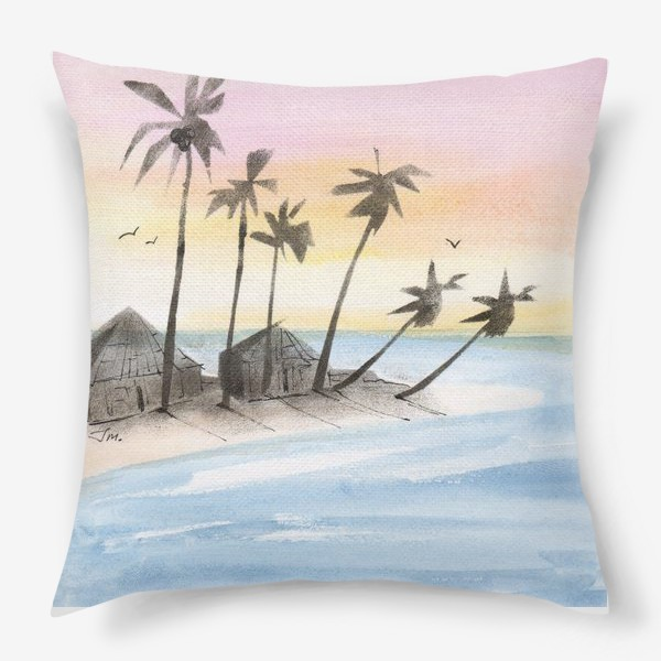 Подушка «Мальдивы»