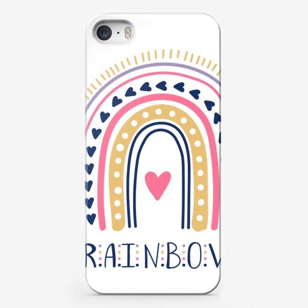 Чехол iPhone «Радуга»