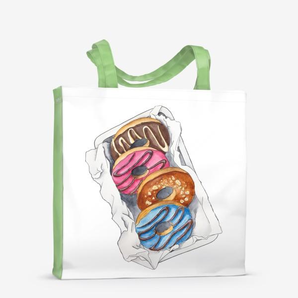 Сумка-шоппер «Пончики»
