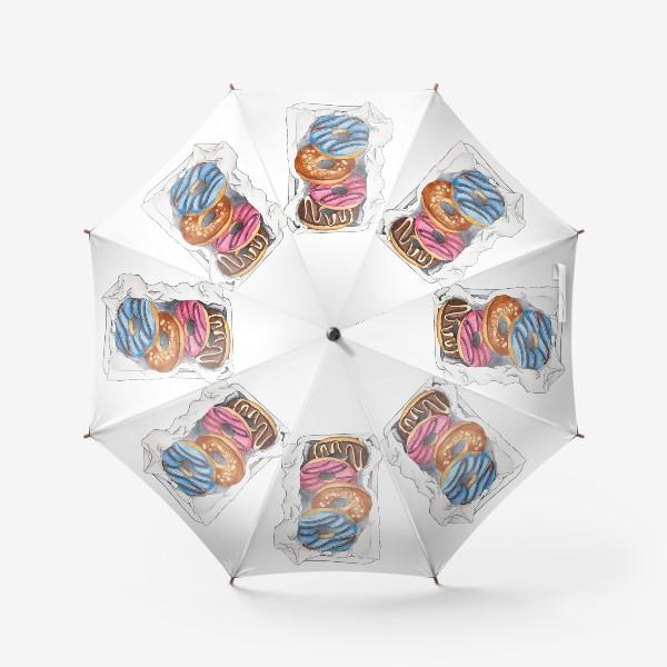 Зонт «Пончики»