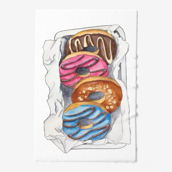 Полотенце «Пончики»