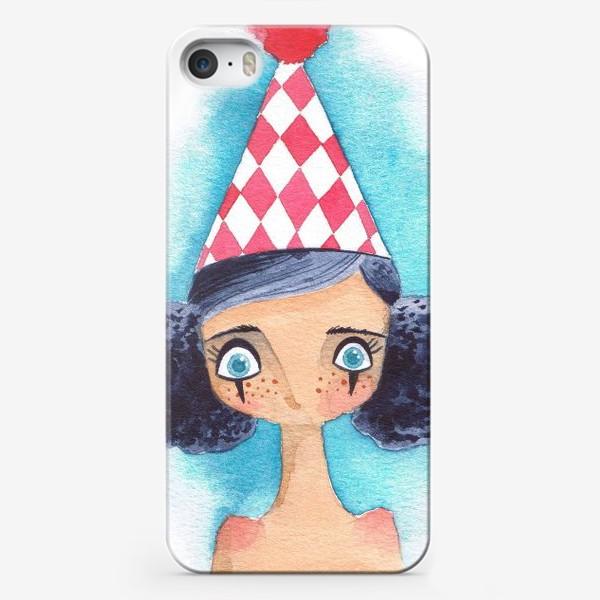 Чехол iPhone «клоунесса»