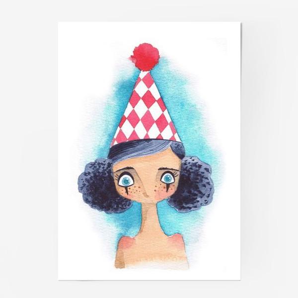Постер «клоунесса»