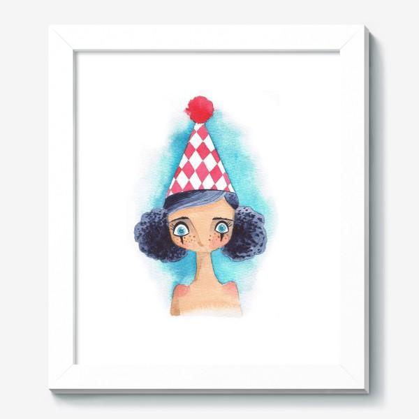 Картина «клоунесса»