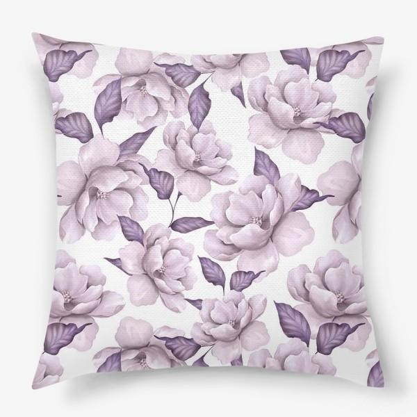 Подушка «Нежные цветы»