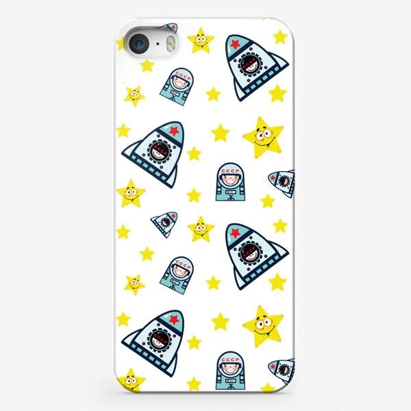 Чехол iPhone «Паттерн космос. »