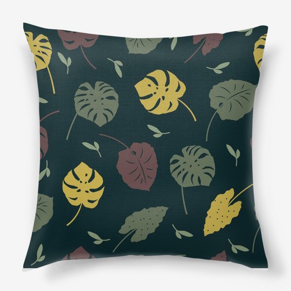 Подушка «Тропический лес»