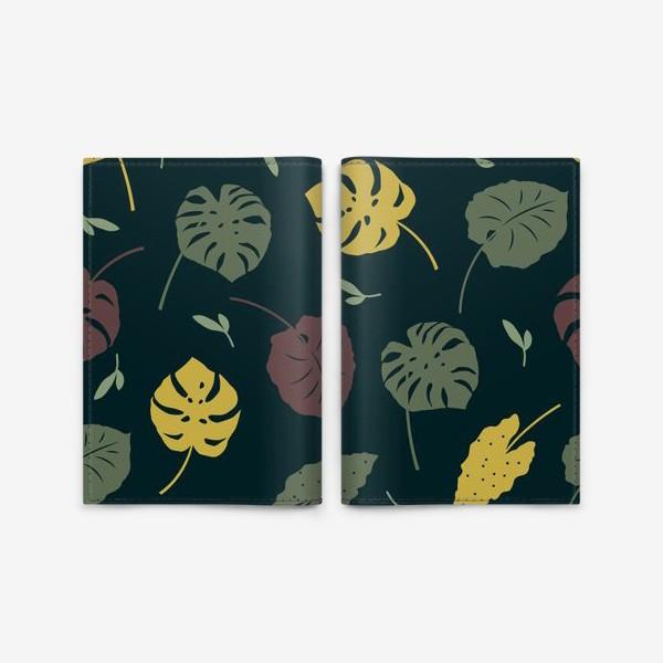 Обложка для паспорта «Тропический лес»