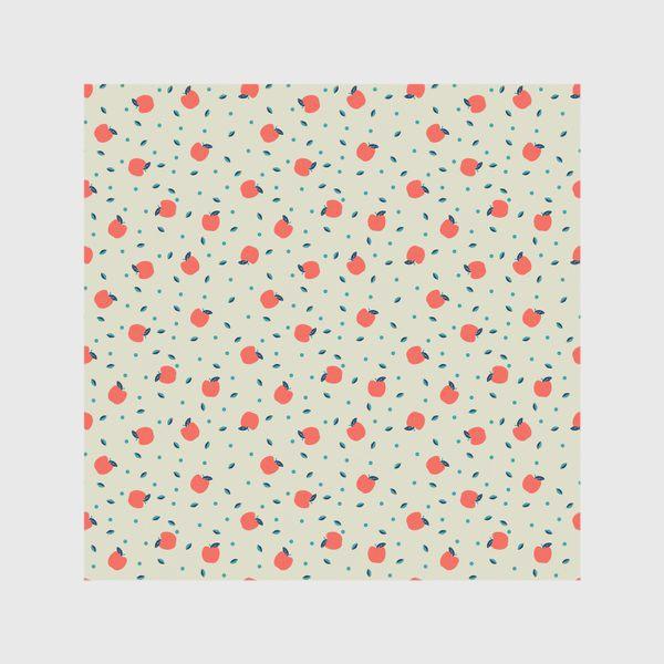 Скатерть «Много красных яблочек»