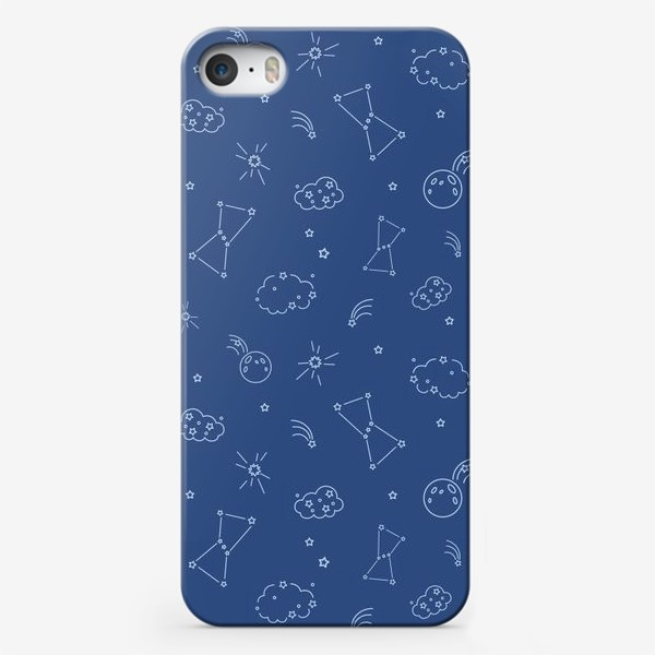 Чехол iPhone «Ночное небо»