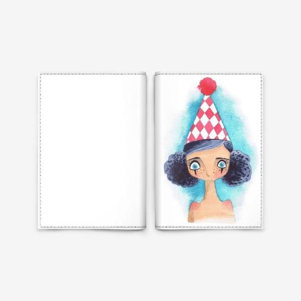 Обложка для паспорта «клоунесса»