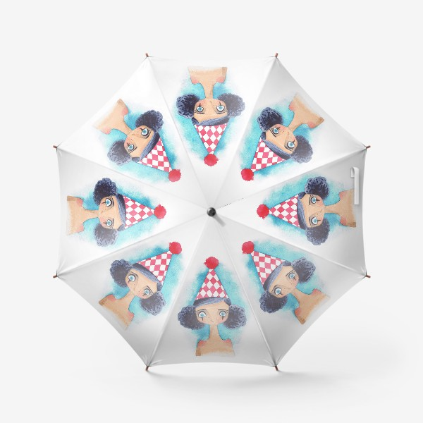 Зонт «клоунесса»