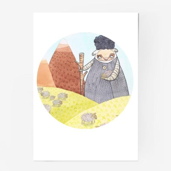 Постер «пастух»