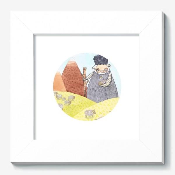 Картина «пастух»