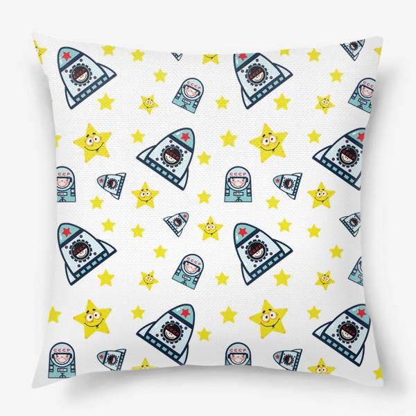 Подушка «Паттерн космос. »