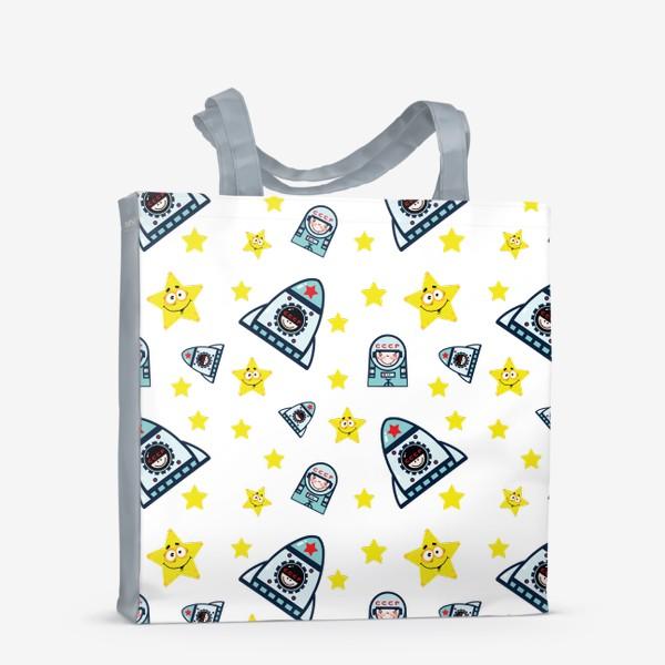 Сумка-шоппер «Паттерн космос. »
