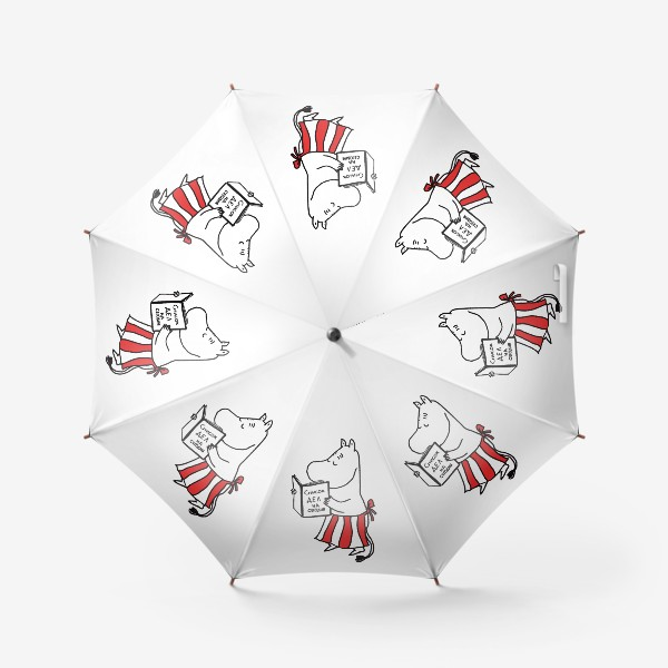 Зонт «Муми-Мама. Очень занятая женщина.»