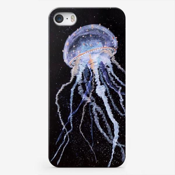 Чехол iPhone «МЕДУЗА НА ЧЕРНОМ»