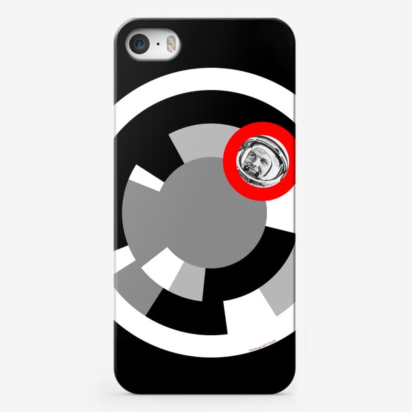 Чехол iPhone «MAN IN SPACE»