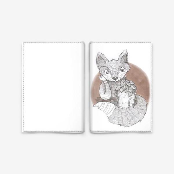 Обложка для паспорта «соболь»