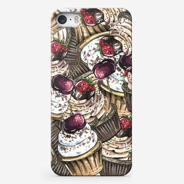 Чехол iPhone «Сладкий принт»