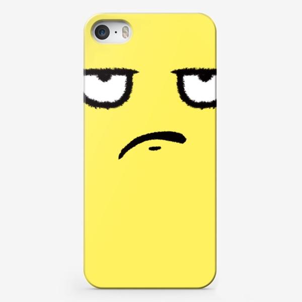 Чехол iPhone «Недоволен»