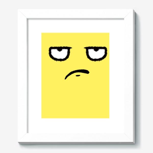 Картина «Недоволен»