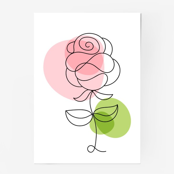 Постер «Roses»