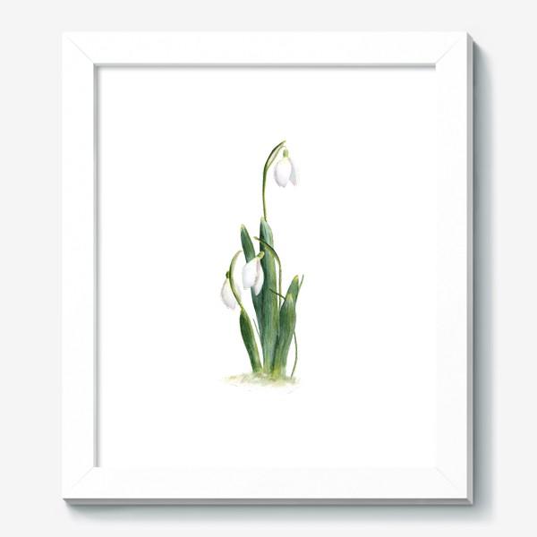 Картина «Нежность самой весны. Подснежники.»