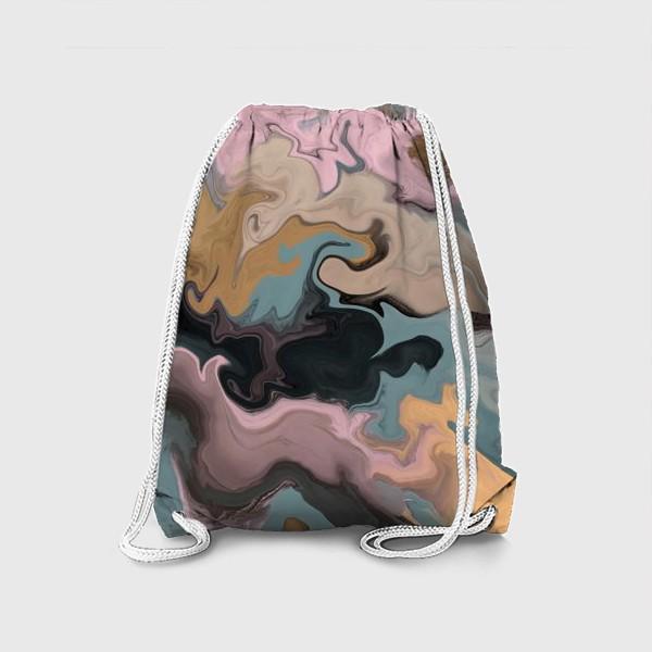 Рюкзак «абстрактный фон с эффектом акрила »