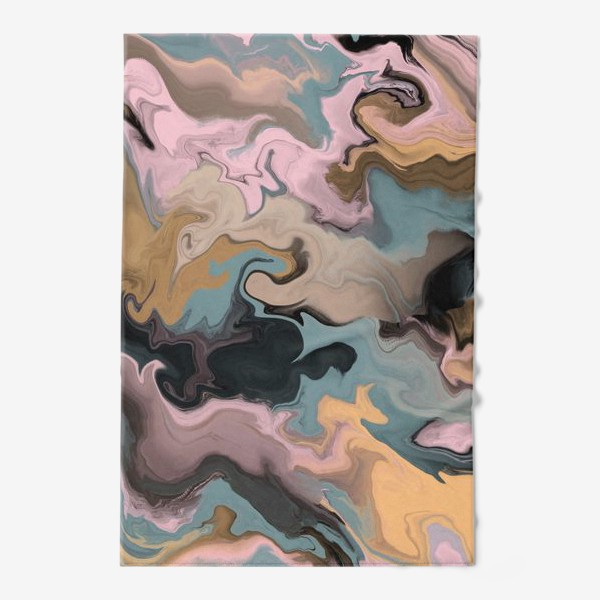 Полотенце «абстрактный фон с эффектом акрила »