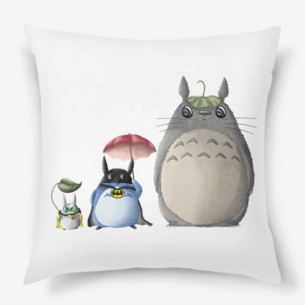 Подушка «Тоторо и Ко»